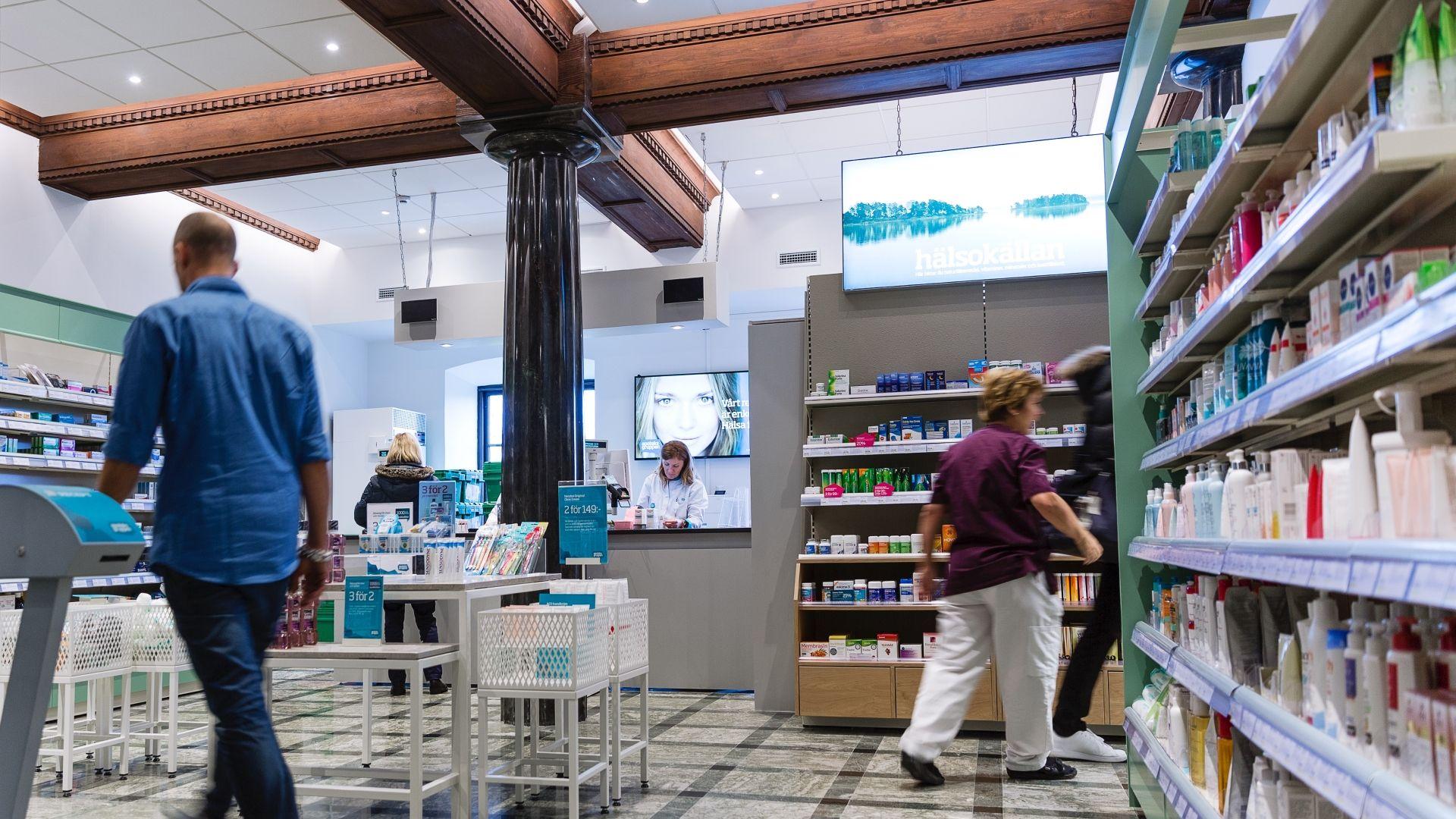 Apotek johanneberg apoteksgruppen – ett på sjukhuset carlanderska